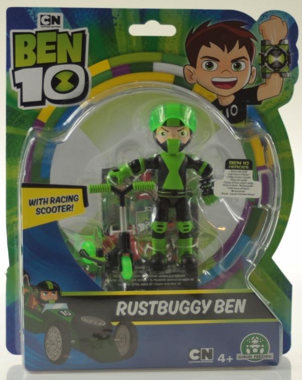 Ben 10: Figurka podstawowa 13 cm seria 7 - Rustbuggy Ben (BEN39610)