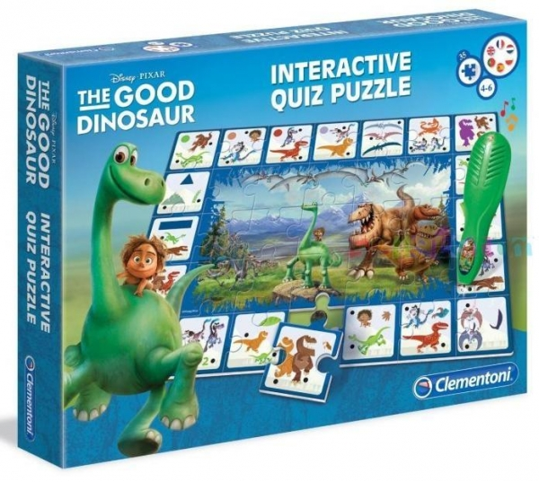 Interaktywny Quiz puzzle 35 Dobry Dinozaur (13291)