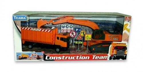 Teama Zestaw pojazdów konstrukcyjnych 1:48 (001-22492)