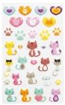 Naklejki 3D Koty