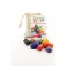 Kredki Crayon Rocks w bawełnianym woreczku 8 kolorów