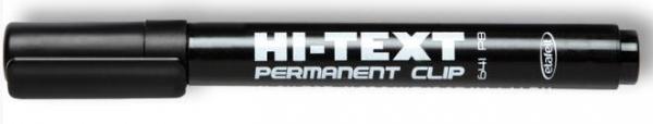 Permanent 641/PB Clip OKR czarny (12 szt) HI-TEXT