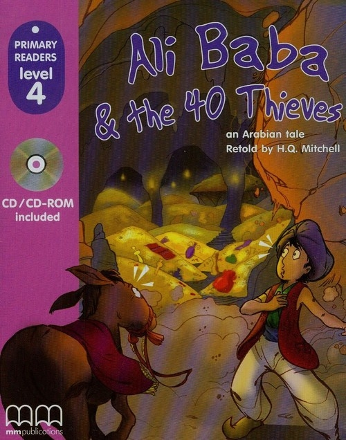 Ali Baba and the Forty Thieves + CD Mitchell H.Q.