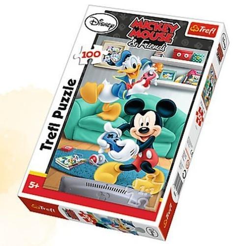 Puzzle 100: Myszka Miki i Donald (16291)