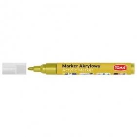 Marker akrylowy TO-402 - złoty (438092)