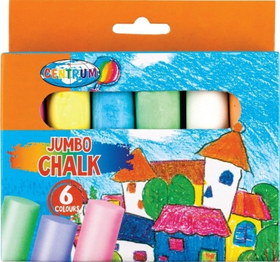 Kreda kolorowa Jumbo Magic willage, 6 kolorów (80391)