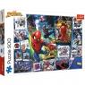 Puzzle 500:  Plakaty z superbohaterem (37391)