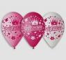 Balony Premium Księżniczki 5 sztuk