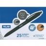 Długopis P07 Touch czarny (25szt) MILAN