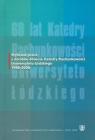 Wybrane prace z dorobku 60-lecia Katedry Rachunkowości Uniwersytetu Łódzkiego 1948-2008