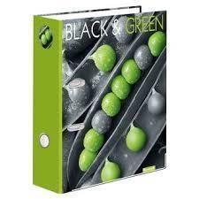 Segregator A4/75 dźwigniowy Black&Green