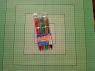 Długopisy zamykany 6 kolorów
