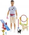 Barbie: Lalka Ken - trener psów (GJM32/GJM34)