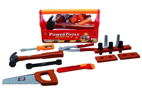 Skrzynka z narzędziami z pilą i młotkiem (1575913)