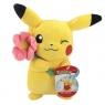 Pikachu plusz 20cm z kwiatkiem Wiek: 3+