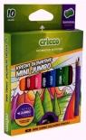 Kredki ołówkowe trojkątne mini Jumbo 10 kolorów 6 sztuk