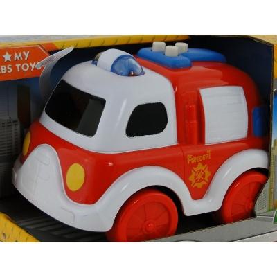 Samochód strażacki Adar na baterie (507913)