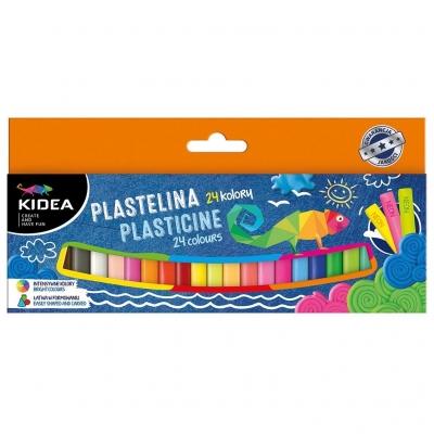 Plastelina Kidea - 24 kolory (DRF-068913)