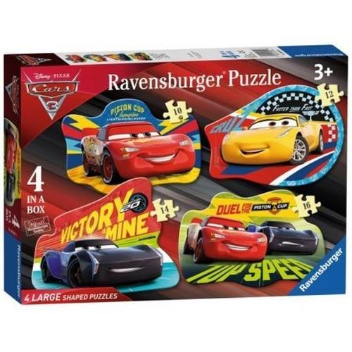 Puzzle 4w1 Auta 3 Puzzle podłogowe