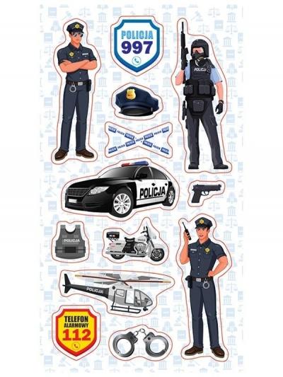 Naklejki Policjanci