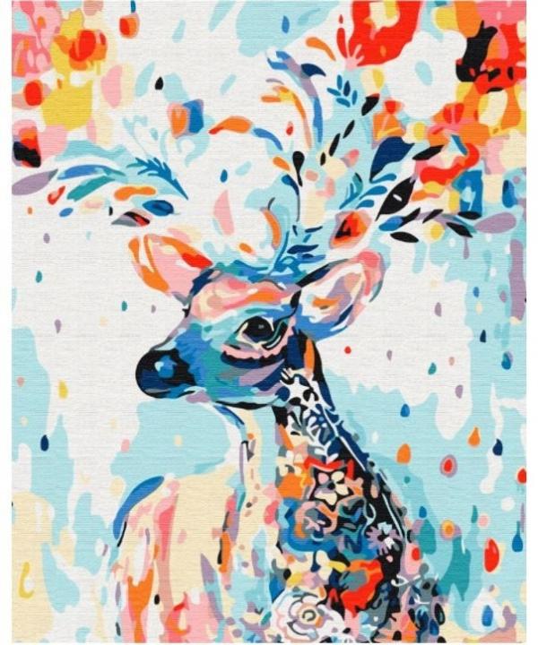 Obraz Malowanie po numerach - Jeleń (BS202)