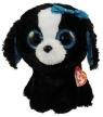 Maskotka Beanie Boos Tracey - Biało-czarny Pies 15 cm (37191)