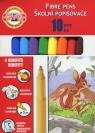 Flamastry 10 kolorów