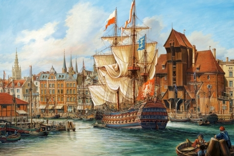 Puzzle 1000: The Old Gdansk (C-102914)