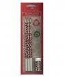 Ołówek grafitowy z kolorowym motywem Żyrafa 3 sztyki z gumką
