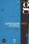 Expression et style (corrigés intégrés) - B2-C1