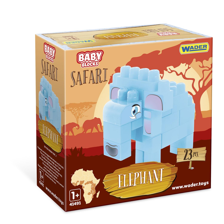 Baby Blocks Safari klocki (41491)