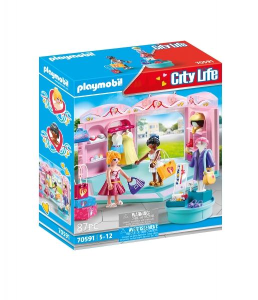 Playmobil City Life: Modny butik z odzieżą (70591)