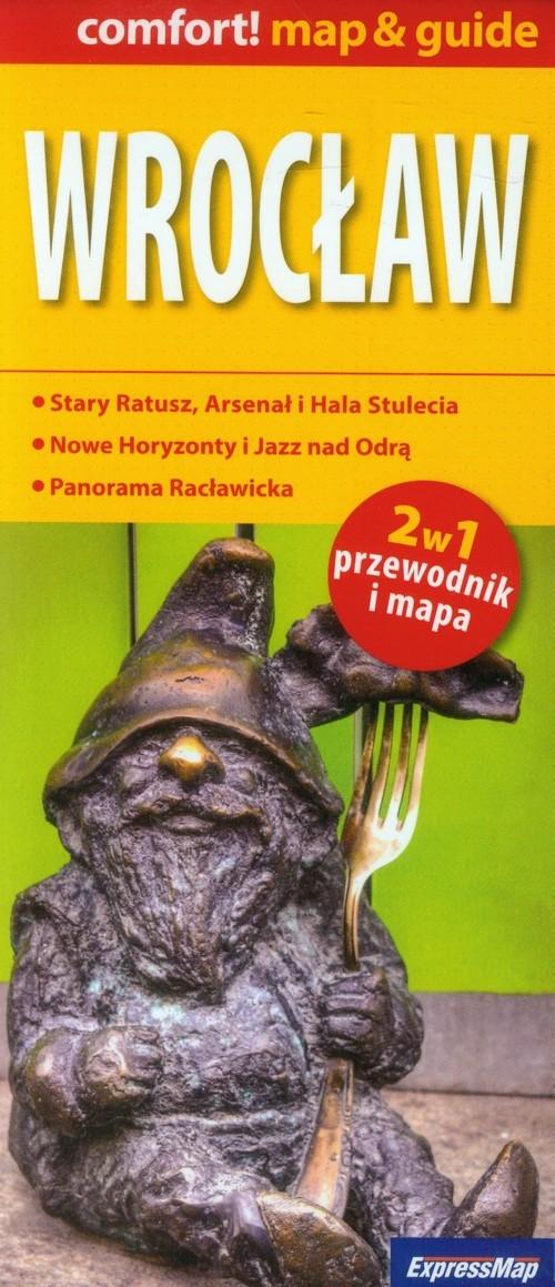 Wrocław 2w1 Przewodnik i mapa