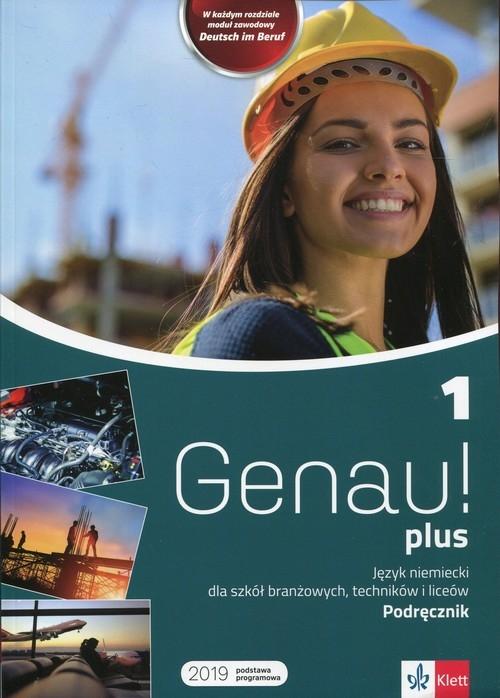 Genau! plus 1 Podręcznik z płytą CD Tkadleckova Carla, Tlusty Petr