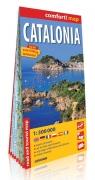 Catalonia laminowana mapa samochodowo-turystyczna 1:300 000