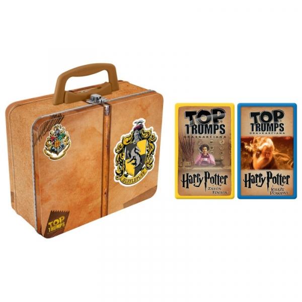 Gra karciana Top Trumps Tin Harry Potter Hufflepuff (WM01321-POL-6)