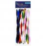 Druciki kreatywne, 20 szt. x 30cm - fala, mix kolorów (KSDR-021)