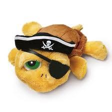 Duże oczy żółwik shelly pirat
