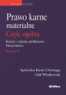 Prawo karne materialne. Część ogólna Kazusy i zadania problemowe. Kania-Chramęga Agnieszka, Włodkowski Olaf