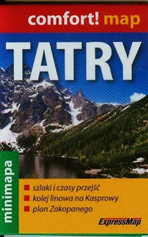 Tatry minimapa 1:80 000