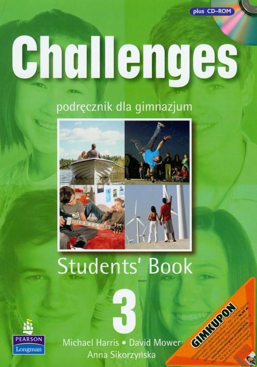 Challenges 3 Students Book z płytą CD Harris Michael, Mower David, Sikorzyńska Anna