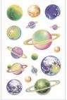Naklejki B ozdobne Świecące planety