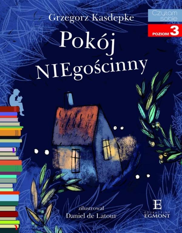 Czytam sobie Pokój NIEgościnny poziom 3 Grzegorz Kasdepke