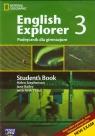 English Explorer 3 podręcznik z płytą CD zakres podstawowy i rozszerzony
