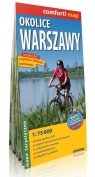 Okolice Warszawy mapa turystyczna 1:75 000