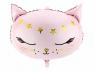 Balon foliowy Partydeco Kotek wymiary ok. 48 x 36 cm 14cal (FB47)