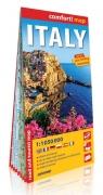 Włochy comfort! map laminowana mapa samochodowo - turystyczna