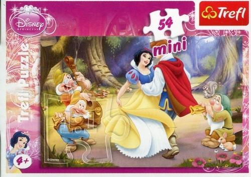 Puzzle 54 Mini Disney Księżniczki Śnieżka (19391)