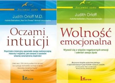 Pakiet - Oczami intuicji/Wolność emocjonalna Judith Orloff