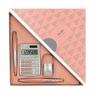 Zestaw upominkowy Milan Silver różowy (08738)